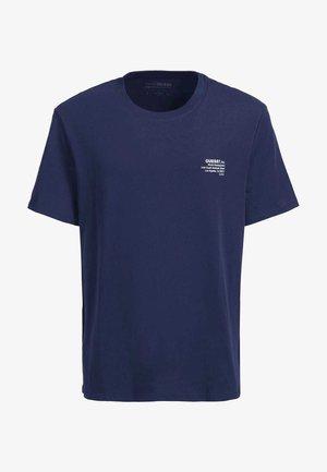 T-shirt z nadrukiem - blau