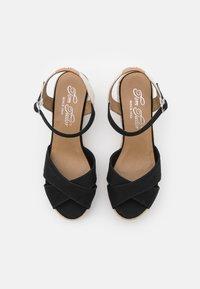 TOM TAILOR - Platform sandals - black - 5