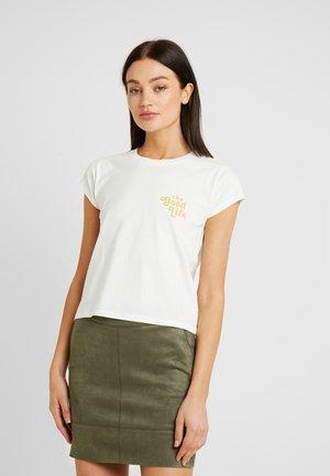 BASIC ART - Camiseta estampada - white
