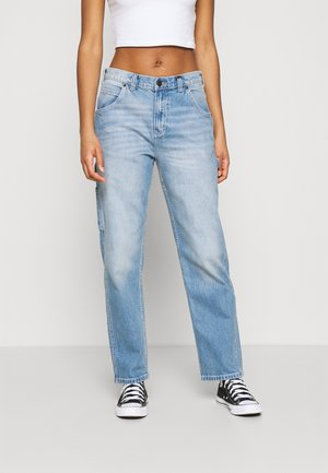 PARK CITY - Relaxed fit jeans - light bleach