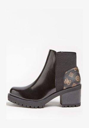 BRIA PEONY LOGO - Classic ankle boots - mehrfarbig braun