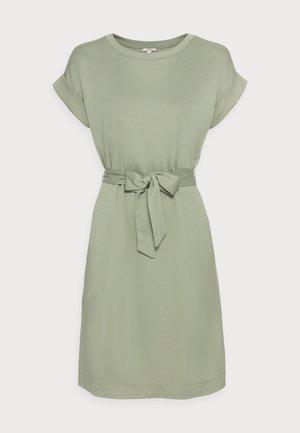 STRUC DRESS - Pouzdrové šaty - light khaki