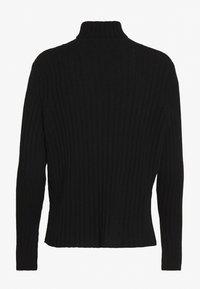 pure cashmere - TURTLENECK - Strickpullover - black - 1