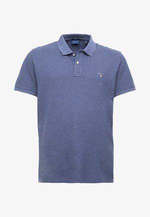 THE ORIGINAL RUGGER - Polo shirt - dark jeansblue melange