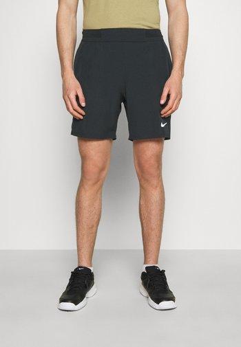 SHORT - Sportovní kraťasy - black/white