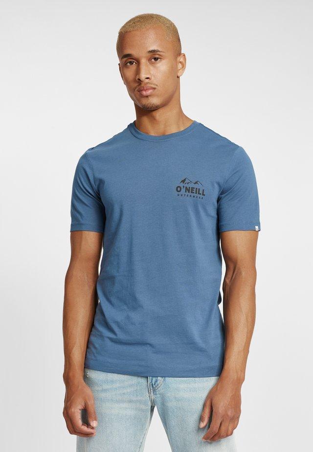 ROCKY MOUNTAINS  - T-shirt imprimé - blue