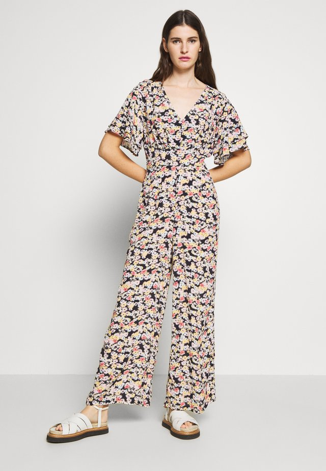 JANET - Overall / Jumpsuit - confetti black