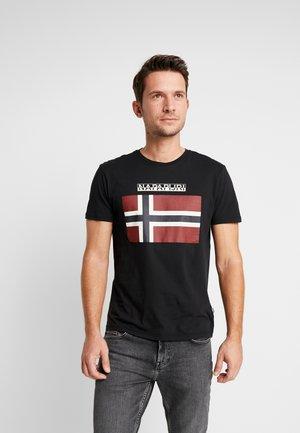 SAXY  - T-shirt z nadrukiem - black