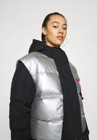 Jordan - Down coat - black/silver - 3