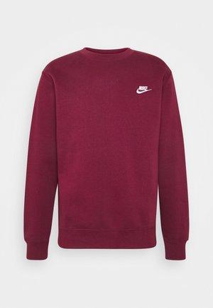 CLUB - Sweatshirt - dark beetroot