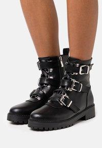 RAID - LUCIA BOOTIE - Cowboy/biker ankle boot - black - 0