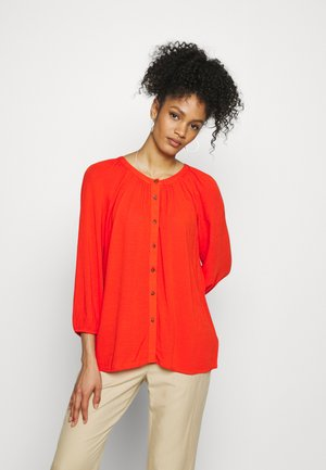 BLOUSE - Blouse - orange red