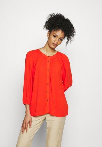 BLOUSE - Blouse - orange red
