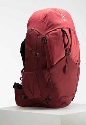 Zaino da trekking - light maroon red/brick red s-m
