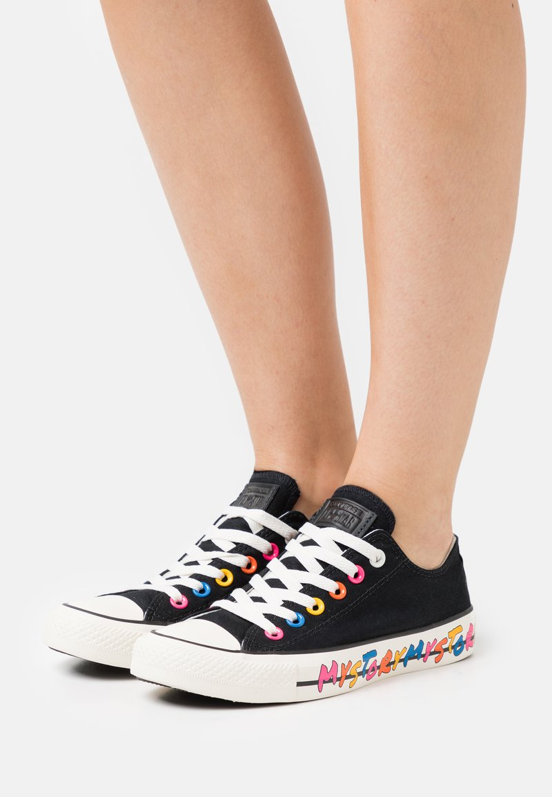 Converse - CHUCK TAYLOR ALL STAR MY STORY - Trainers - black/hyper pink/egret