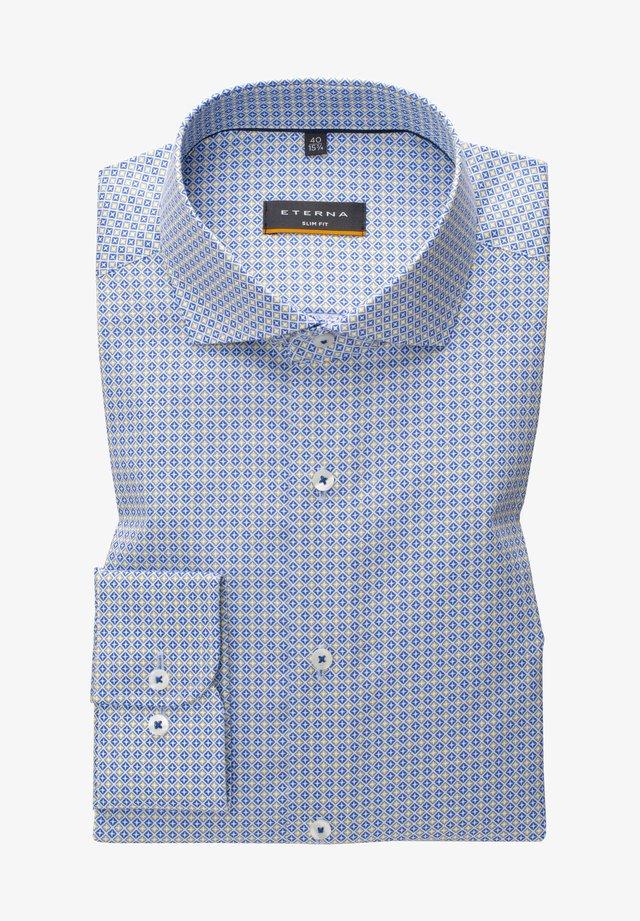 SLIM FIT - Overhemd - gelb blau
