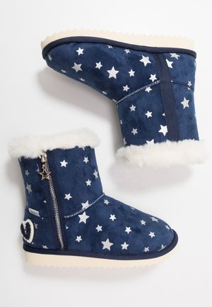 PRINT - Classic ankle boots - navy