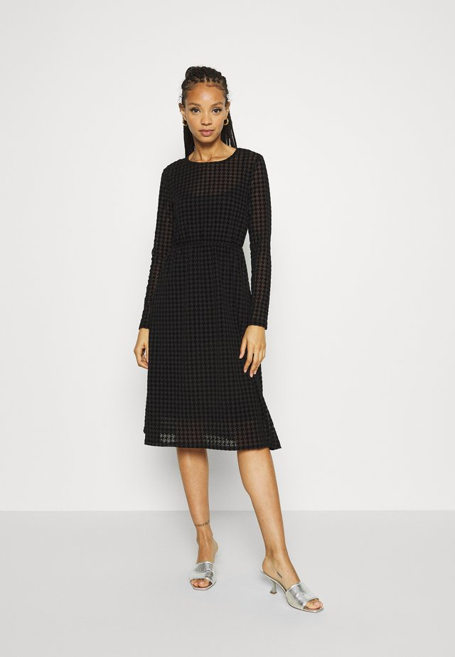 NMLESLY LOOSE DRESS - Day dress - black