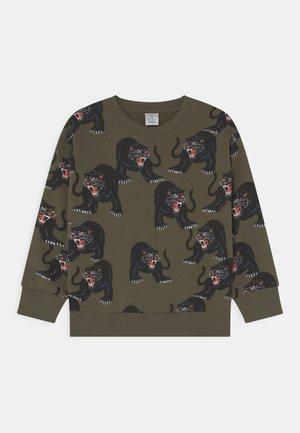 STREET PANTHER - Sweatshirt - dark khaki green
