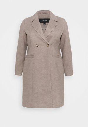 VMCALARAMBLA - Classic coat - sepia tint melange
