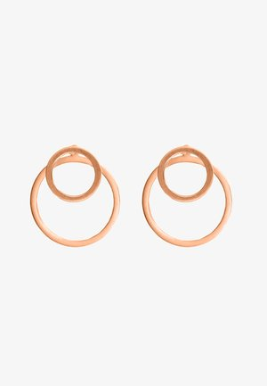 EAR JACKET 2 -IN -1 - Earrings - rosegoldfarben