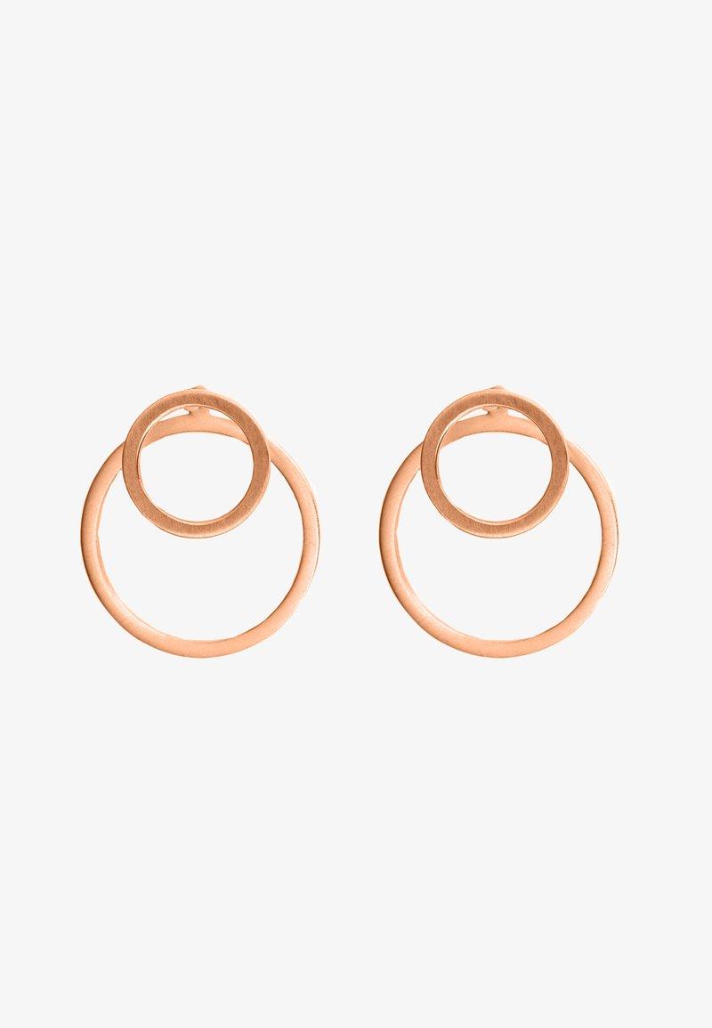 Heideman - EAR JACKET 2 -IN -1 - Earrings - rosegoldfarben