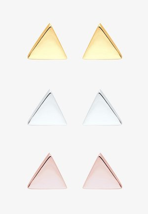 DREIECK  3 PACK  - Earrings - silver/gold/rosé-coloured