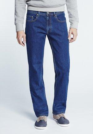 Slim fit jeans - mid stone