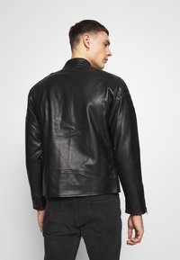 Redefined Rebel - RIVER JACKET - Veste en similicuir - black - 2