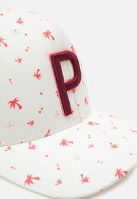 Puma Golf - PALMS TRUCKER SNAPBACK  - Cap - bright white - 4