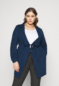 CAPSULE by Simply Be - WATERFALL JACKET - Short coat - navy - 2