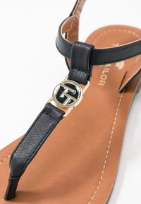 TOM TAILOR - T-bar sandals - navy - 2