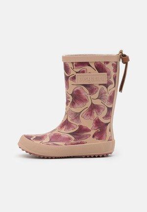 fashion boot - Kalosze - bordeaux leaves