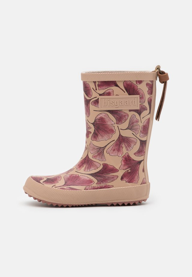 fashion boot - Gummistøvler - bordeaux leaves