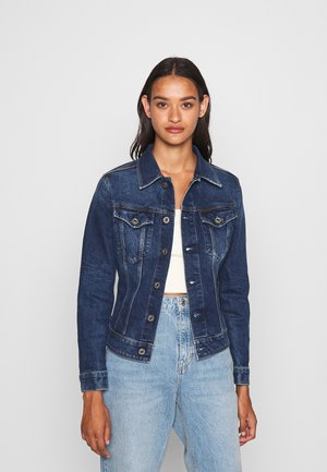 3301 SLIM - Veste en jean - faded stone