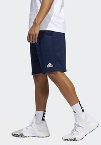 adidas Performance - SPORT 3-STRIPES SHORTS - Sports shorts - blue - 2