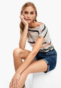 s.Oliver - Denim shorts - blue denim stretch - 3
