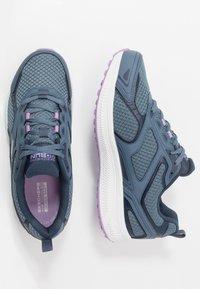 Skechers Performance - GO RUN CONSISTENT - Neutral running shoes - blue/purple - 1