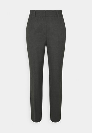 SLFRIA CROPPED PANT TALL - Trousers - dark grey melange