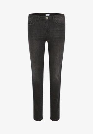 MOLLYSZ  - Liibuvad teksad - dark grey denim