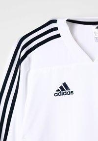adidas Performance - REAL  - Club wear - core white/ tech onix - 2