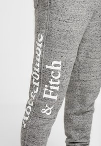 Abercrombie & Fitch - ICON  - Pantalones deportivos - mid grey heather - 4