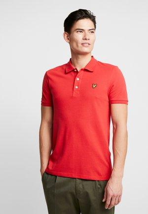 Polo shirt - gala red
