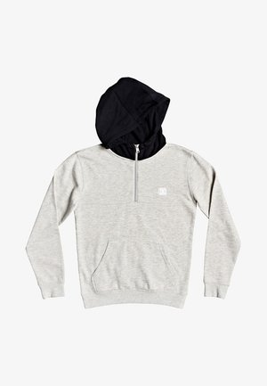 REBEL  - Sweat à capuche - light grey heather