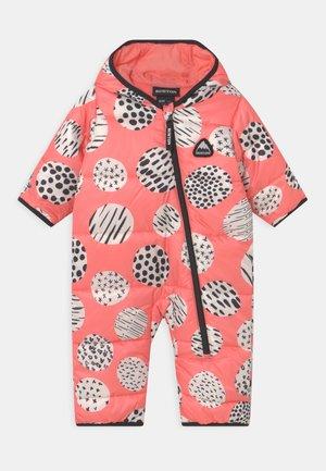 INFANTS BUDDY BUNTING UNISEX - Skipak - pink/black/white