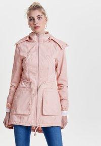 ONLY - EINFARBIGER - Summer jacket - cameo rose - 1