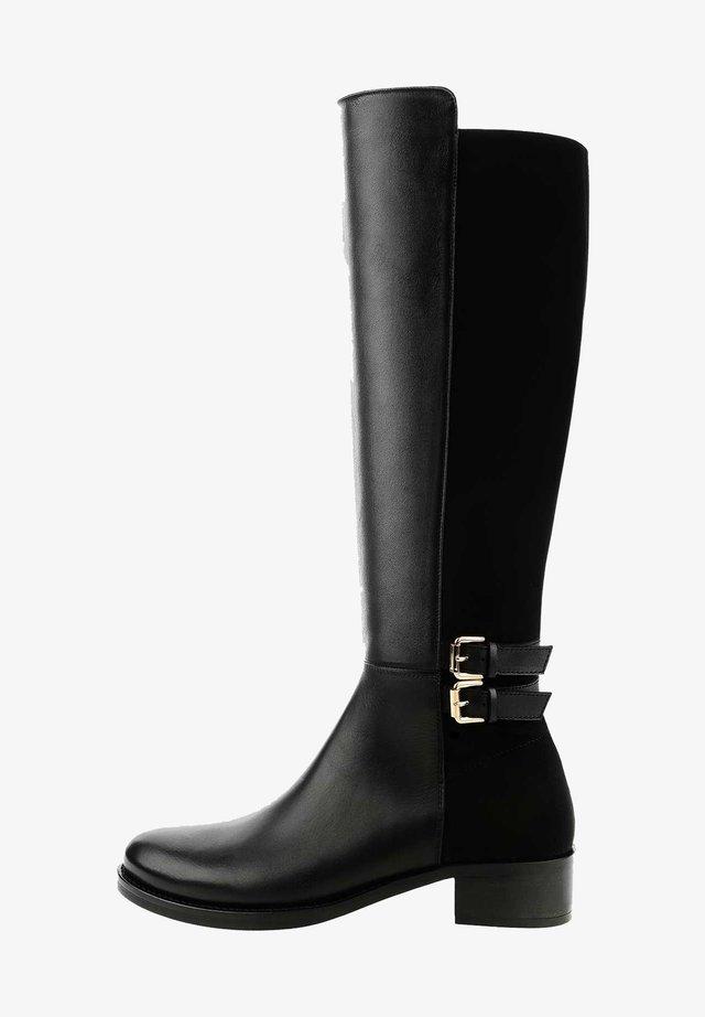 PADERNO - Stivali alti - black