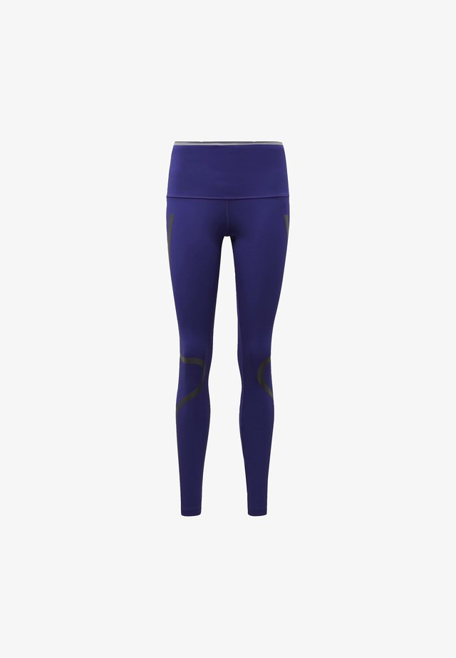 ADIDAS BY STELLA MCCARTNEY TRUEPACE LONG LEGGINGS - Legging - purple