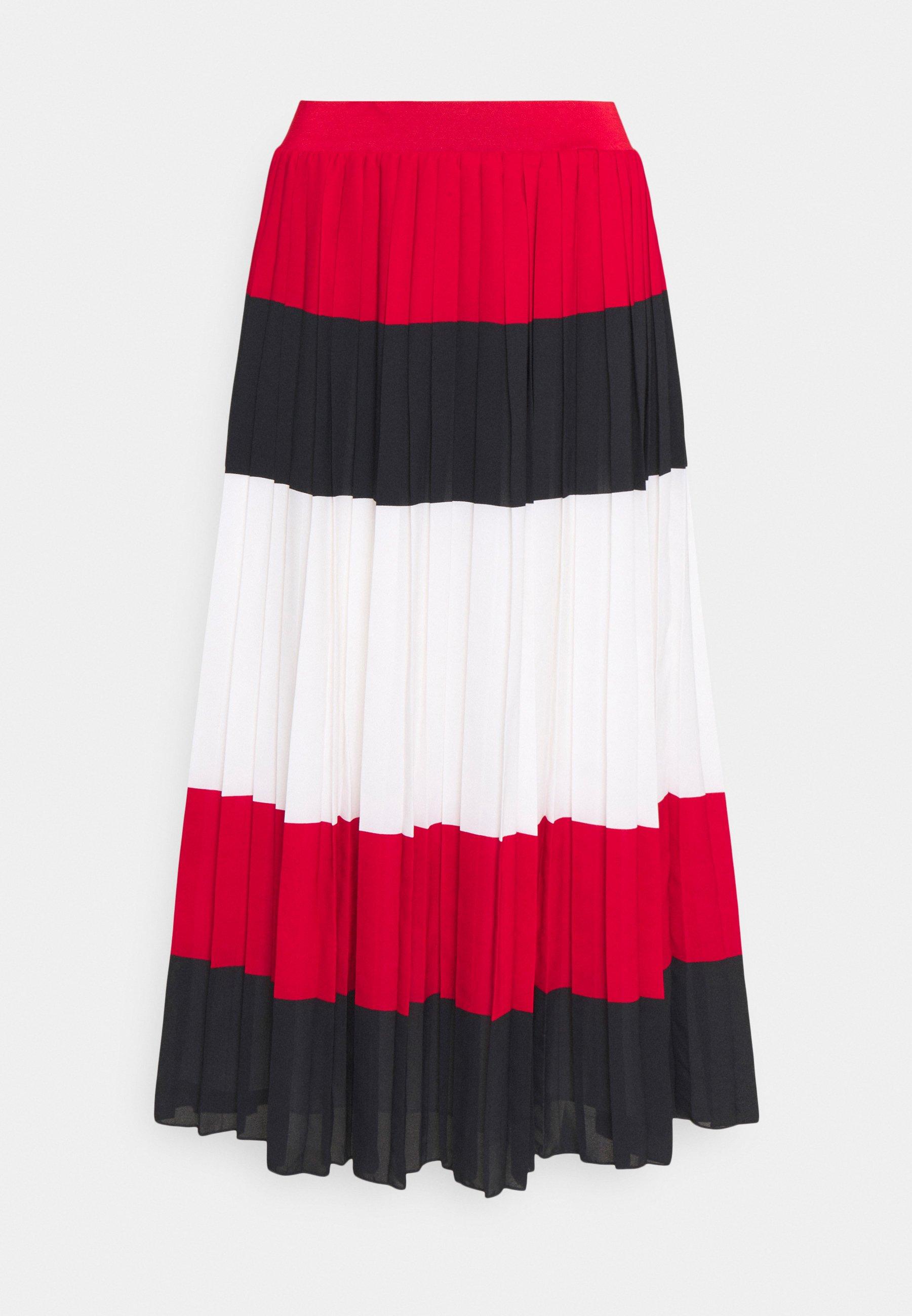 Femme CREPE PLEATED MIDI SKIRT - Jupe plissée