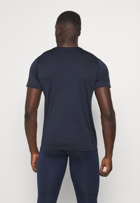 Jack & Jones Performance - JCOZSS PERFORMANCE TEE 2 PACK - Triko s potiskem - black